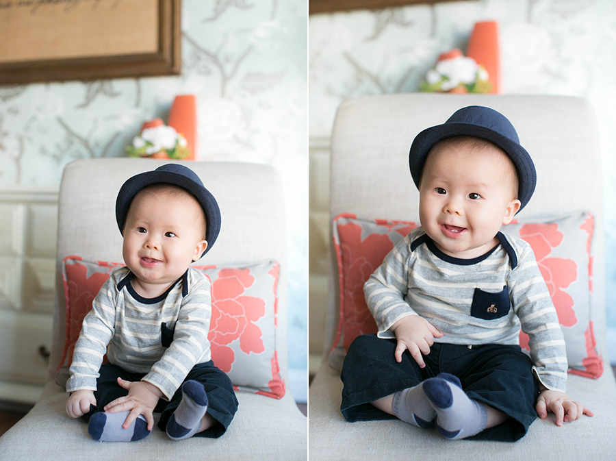 7 month old baby boy thao vu photography