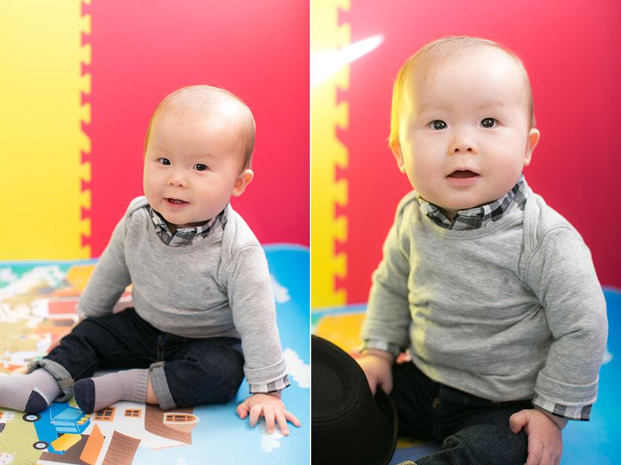 34 week old baby boy