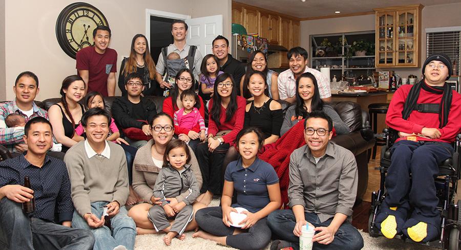 extended vu family lunar new year 2014