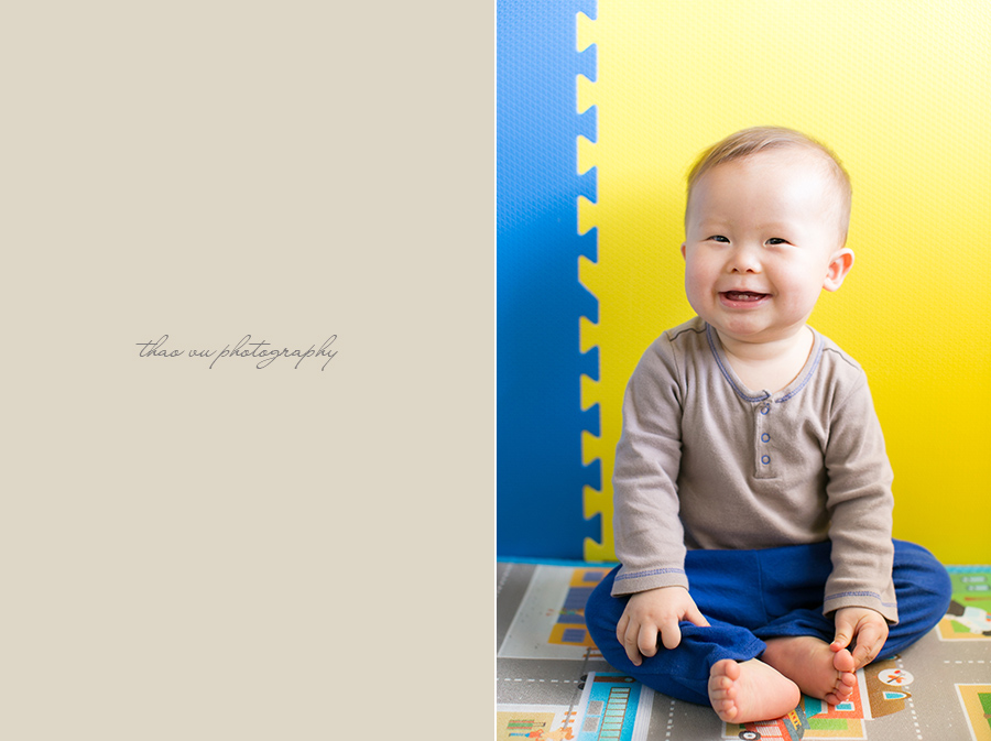 40 week old baby boy thao vu photography