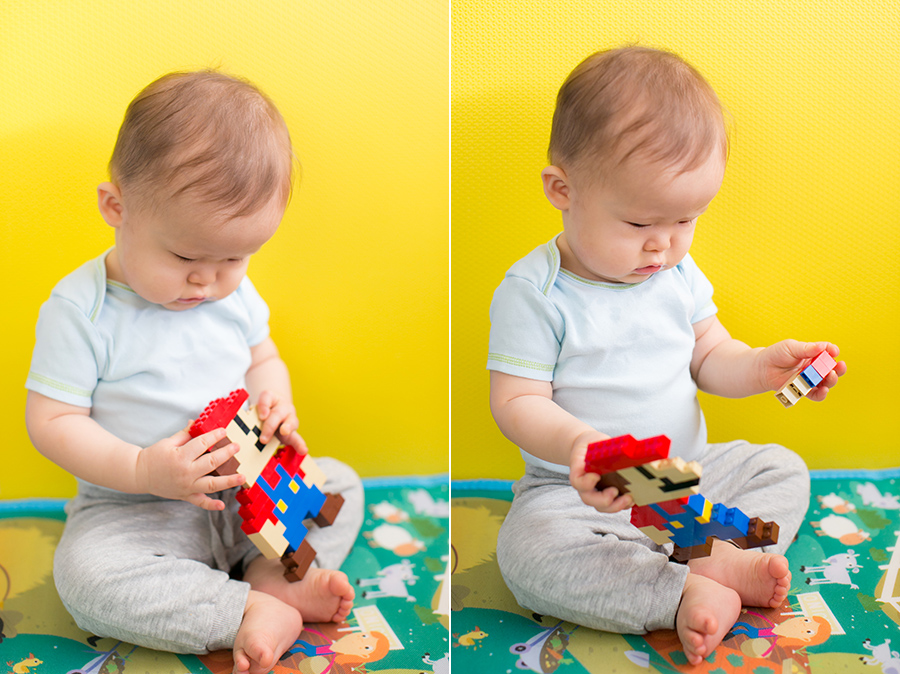 9 month old baby boy 8 bit mario lego