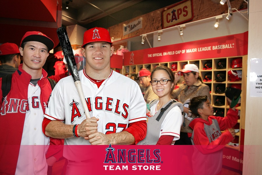 angels team store mike trout