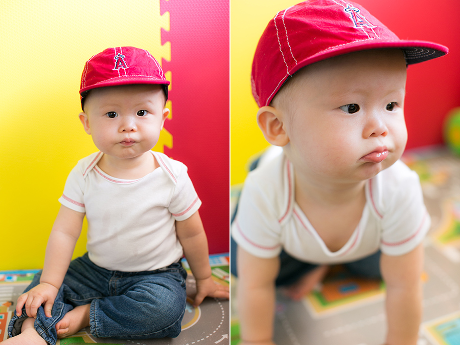 42 week old baby boy angels baseball fan
