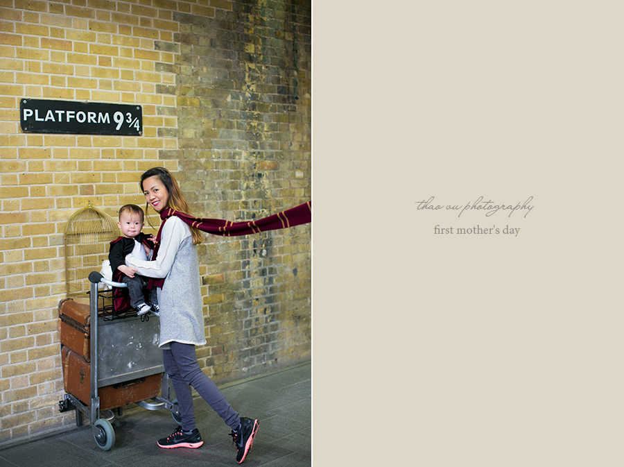 london king's cross station harry potter platform 9 3/4
