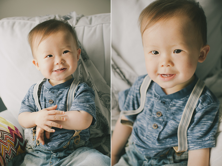 51 week old baby boy thao vu photography
