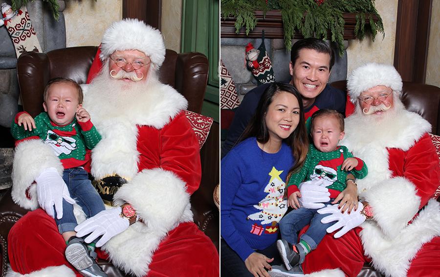visiting santa 2014