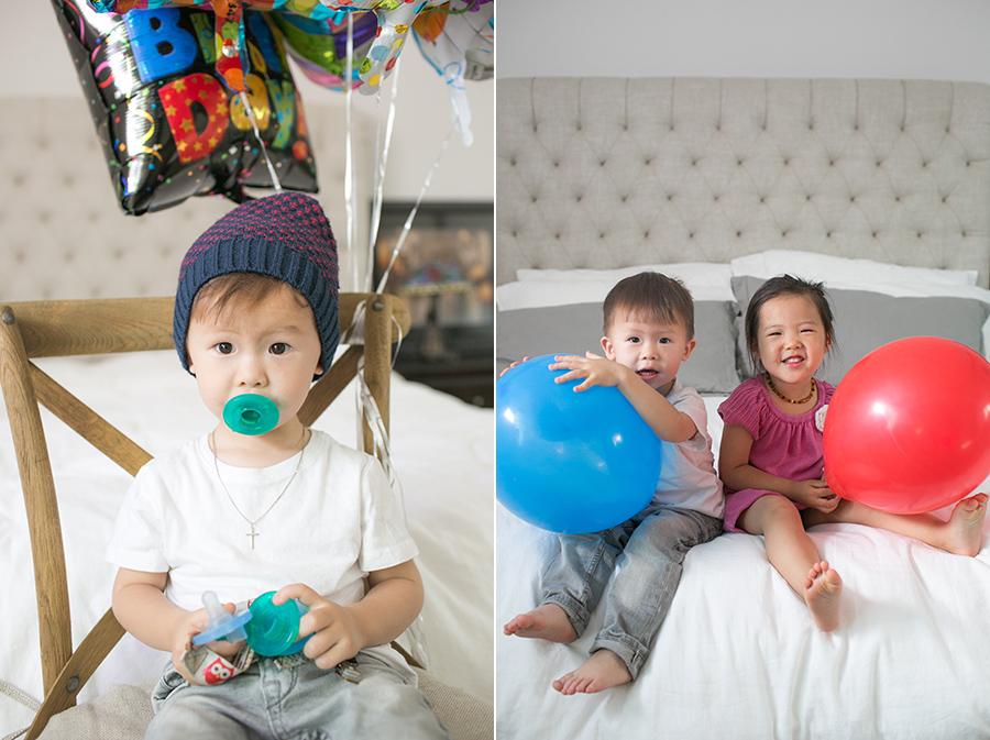 nolan's 2nd birthday pacifier addiction